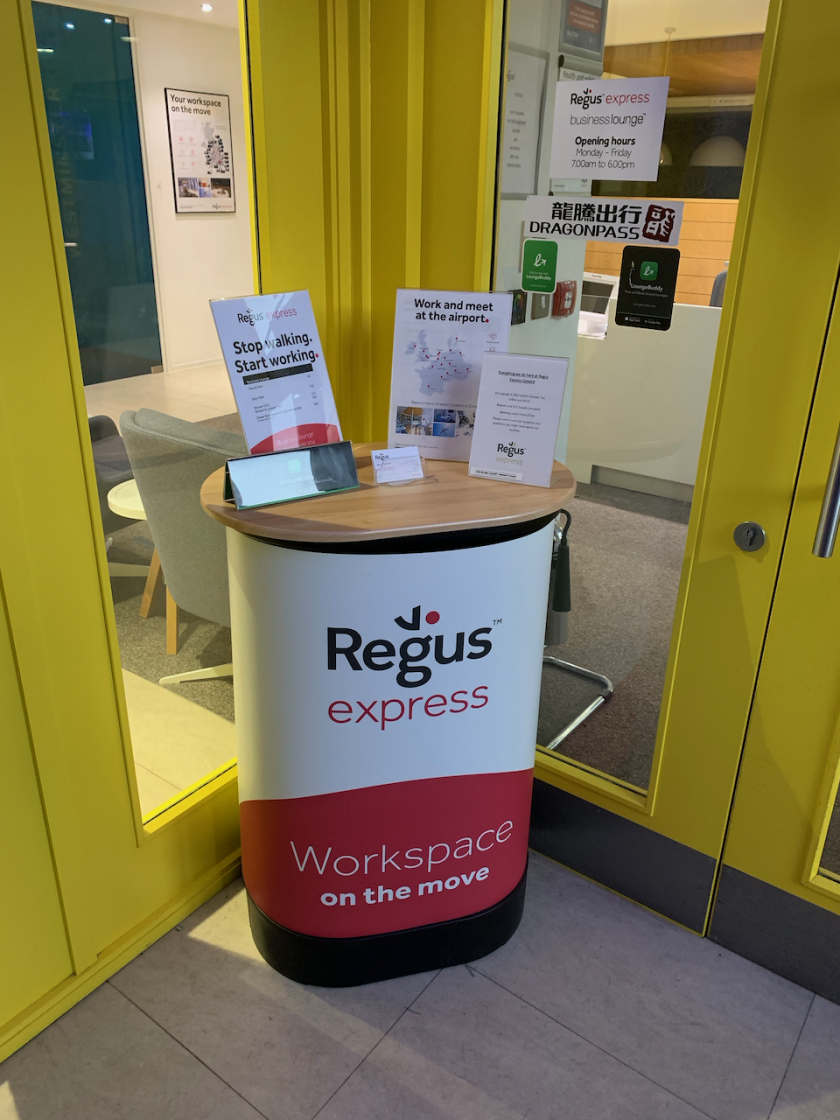Regus Business Lounge  Gatwick South Terminal  – The Ginger